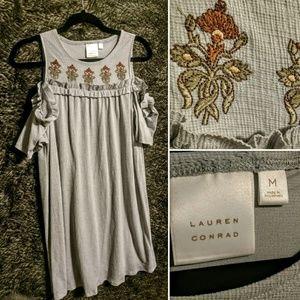 LC Cold Shoulder Dress